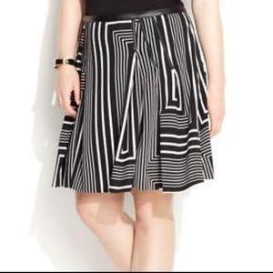 42d19884b Calvin Klein Skirts - NWT CALVIN KLEIN ABSTRACT PRINT PLEATED SKIRT